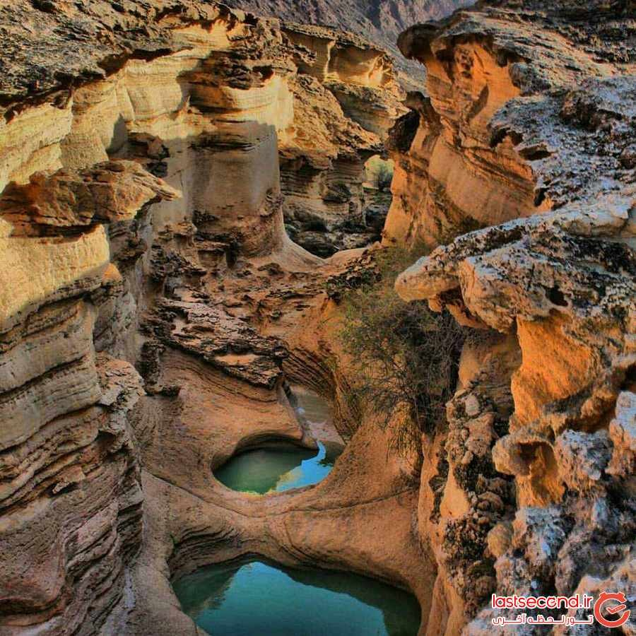 چاهکوه دره ای مقدس  درقشم