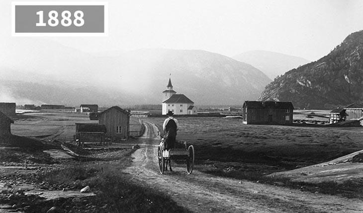 سفر در زمان ، گذشته و حال شهرهای مختلف جهان را ببینید