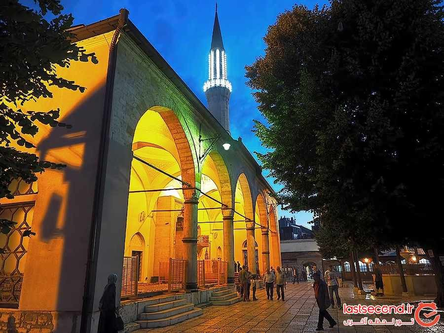 سارایوو ، بزرگترین شهر کوچک بوسنی و هرزگوین 
