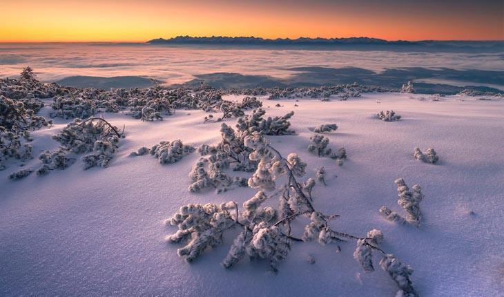 زمستان جادویی در کوههای لهستان