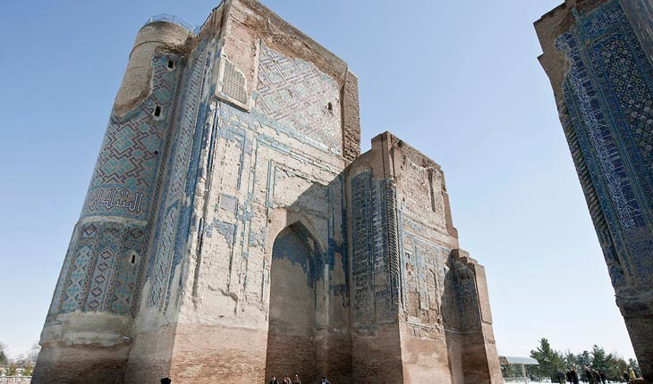 """""""شهر سبز"""" ، شهری رنگارنگ و باستانی در ازبکستان """