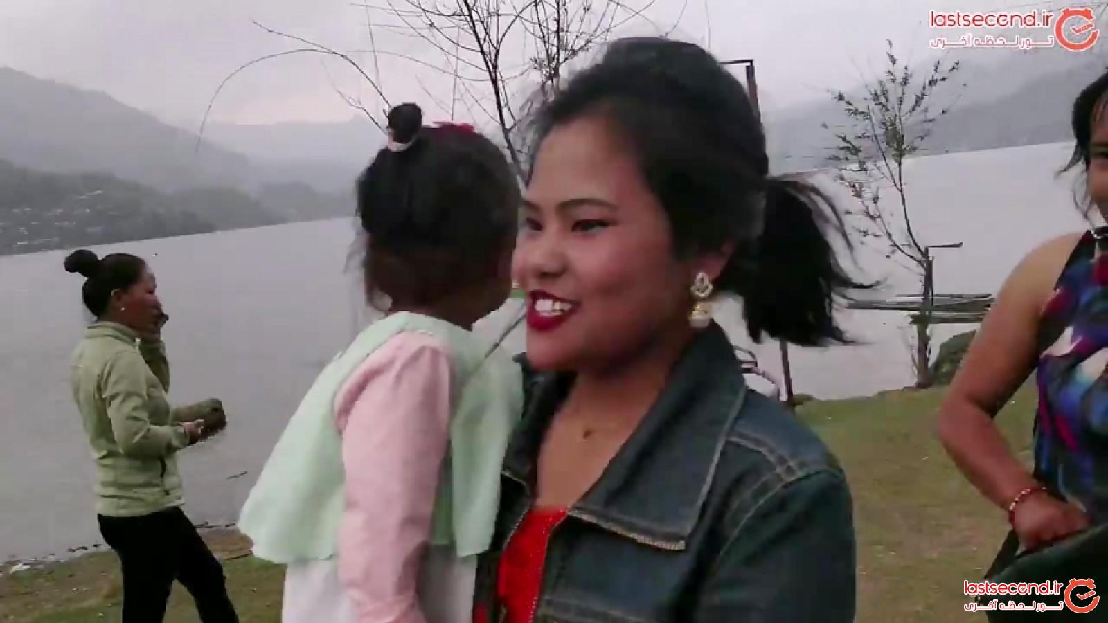 دختر ناماسته گوی ایرانی در نپال