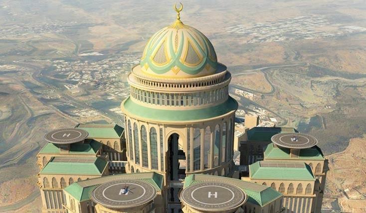 ابر هتل های دنیا در شهر مکه