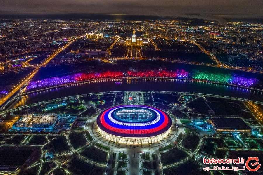 با استادیوم های ورزشی مسابقات فوتبال جام جهانی روسیه آشنا شوید 