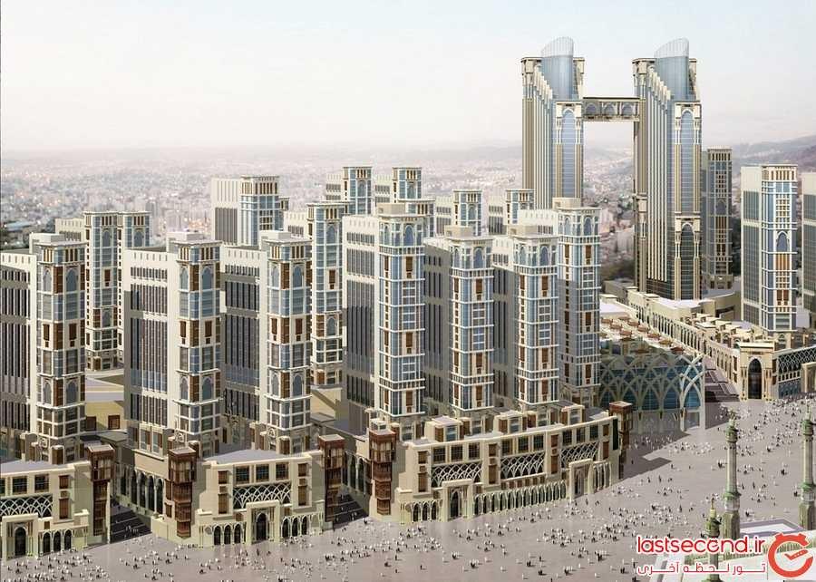 توسعه ی Jabal Omar، در حال ساخت
