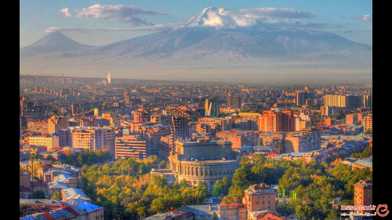 ویدئو زیبا از سفر به ایروان