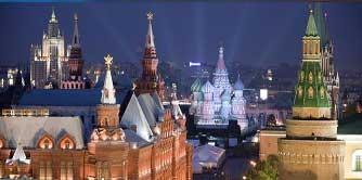سفر یک هفته ای به مسکو و سن پیترزبورگ