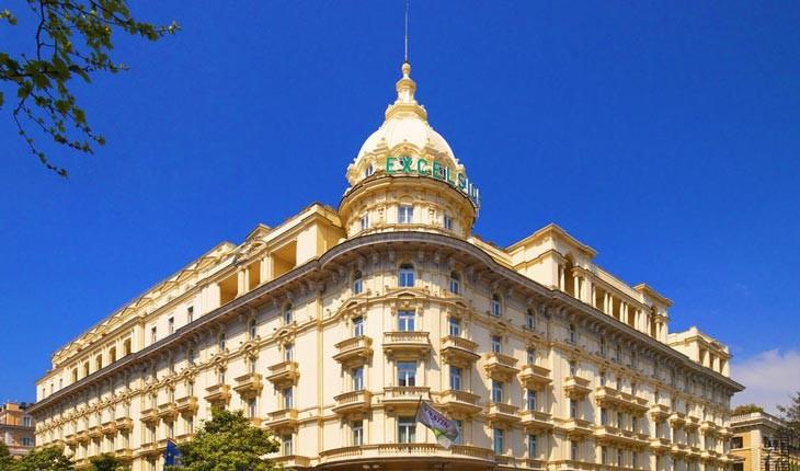 هتل وستین اکسلسیور ، هتلی افسانه ای در شهر رم 