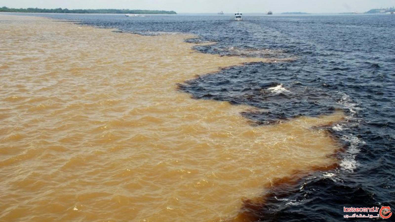 دریای دورنگ و عدم تداخل