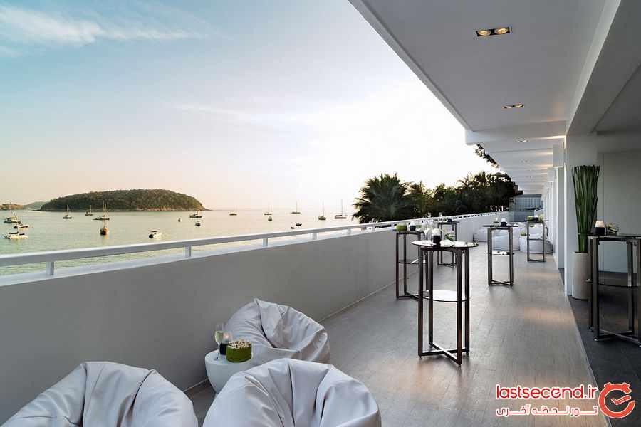 هتل نای هارن پوکت ( The Nai Harn Phuket ) ، پناهگاهی بی نظیر در کنار دریا 