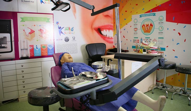 کارالند مشهد ، شهری برای آشنایی کودکان با مشاغل مختلف