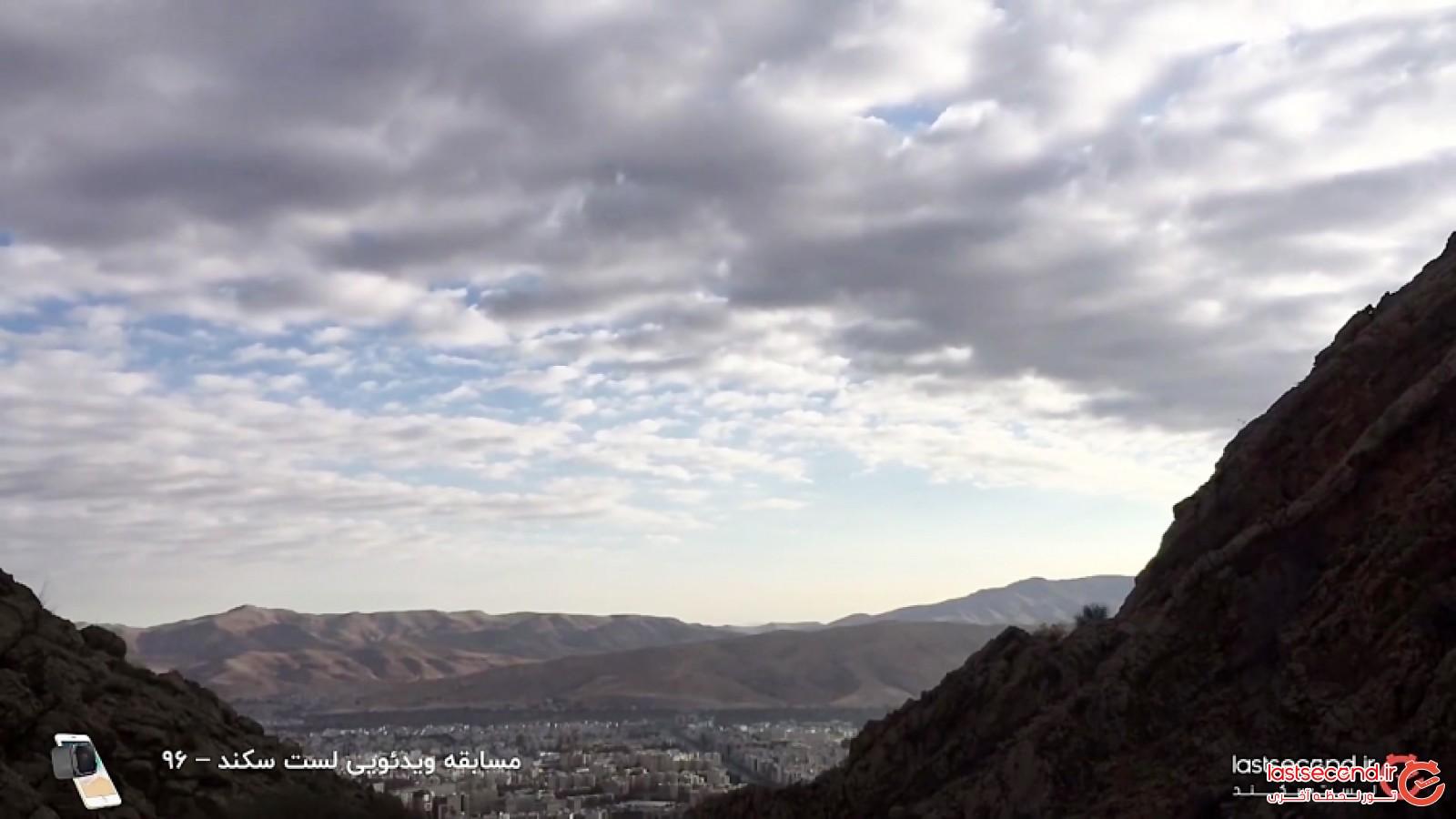 در امتداد کوه دراک با طبیعتی زیبا