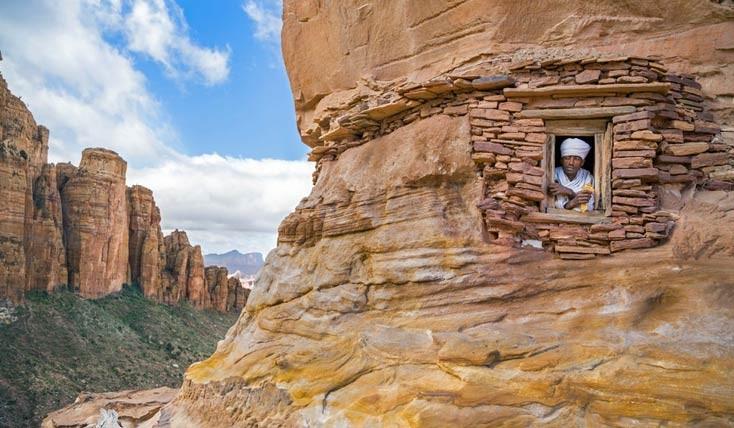 کلیساهای اتیوپی، عبادتگاه هایی برای صخره نوردان !