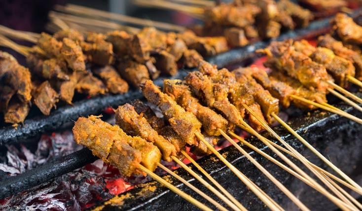 بهترین غذاهای خیابانی آسیا