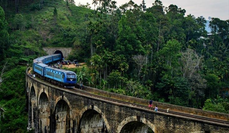 بهترین سفرهای ریلی در سریلانکا