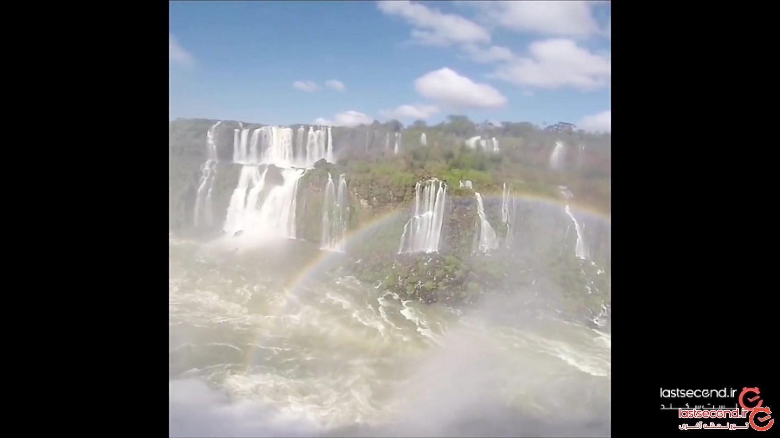 آبشار ایگواسو، آبشاری نعلی شکل