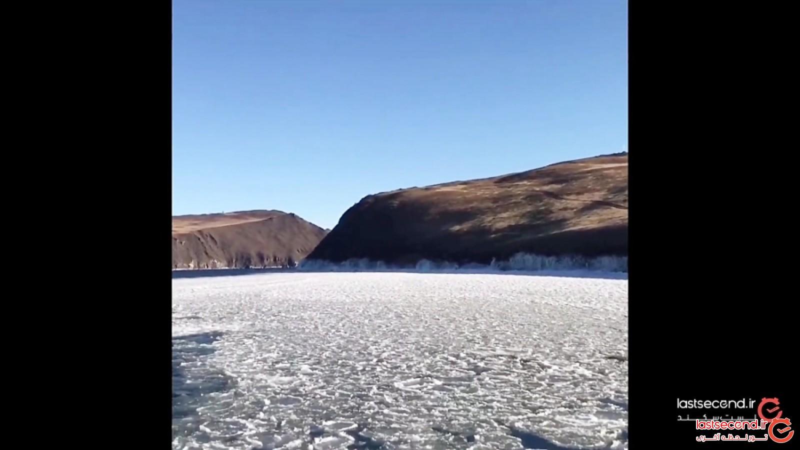 سفر در دل دریاچه یخ زده بایکال