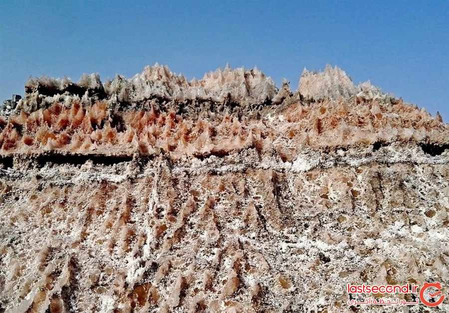 گنبد نمکی جاشک یکی از رموز طبیعت بوشهر
