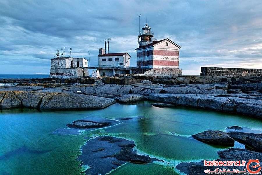 مرزهای عجیب سوئد و فنلاند در جزیره ی مارکت