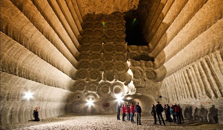 معدن های نمکی سولدار، تفرجگاه هایی در اعماق زمین