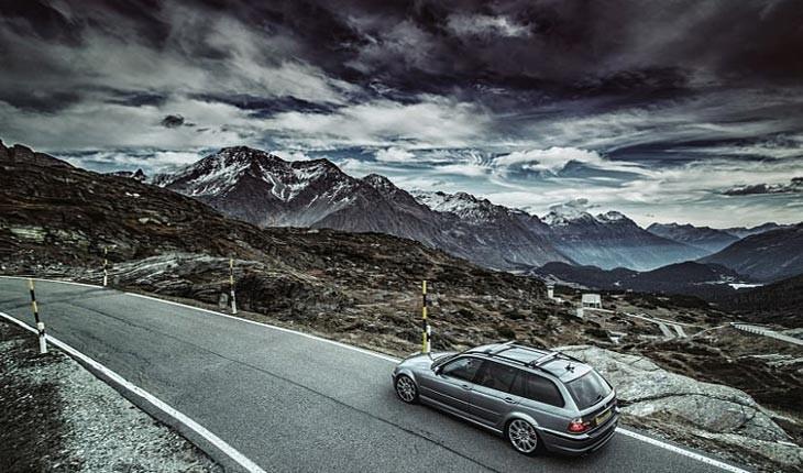 تصاویری از خوش منظره ترین جاده های اروپا 