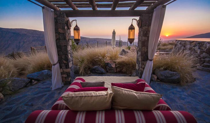 هتل آلیلا جبل اخدار ، اقامتی بی نظیر و به یاد ماندنی در عمان 