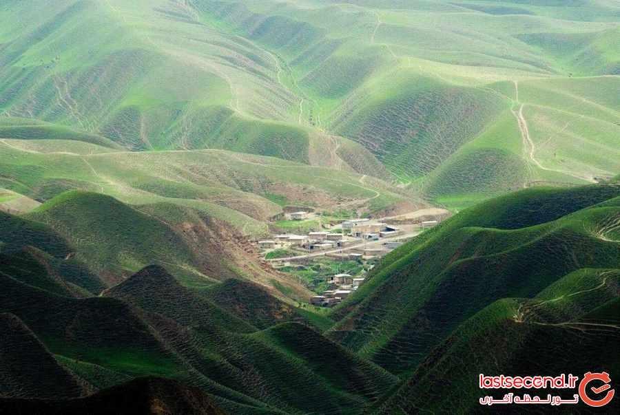 تپه ماهورهای گلستان به وسعت تاریخ هزارساله 
