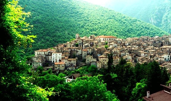 آبروتزو ، سبزترین ناحیه اروپا در ایتالیا 
