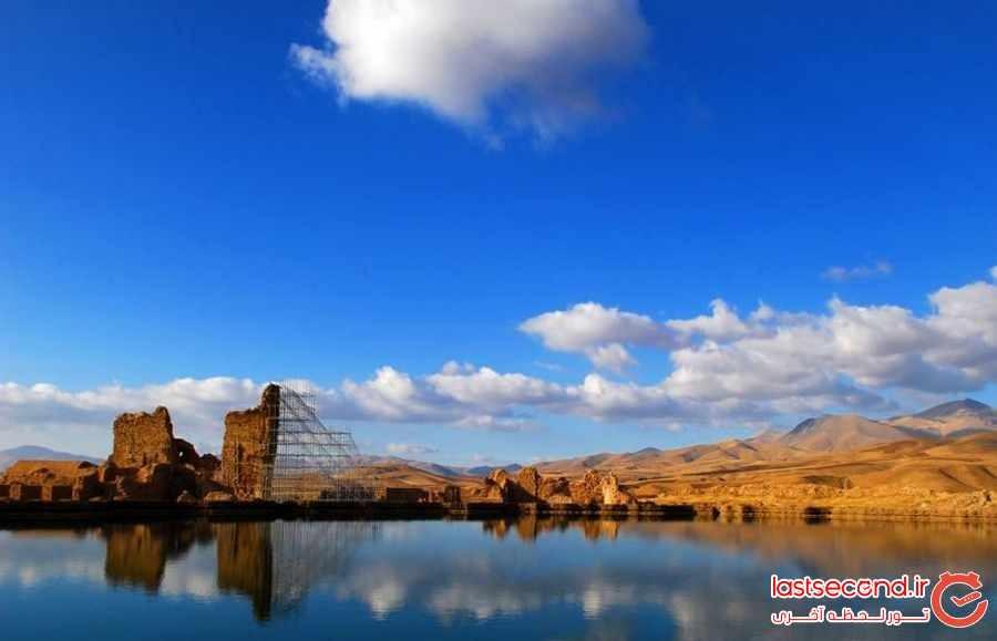 دریاچه تخت سلیمان؛ تصرف شده توسط فرازمینی ها تکاب