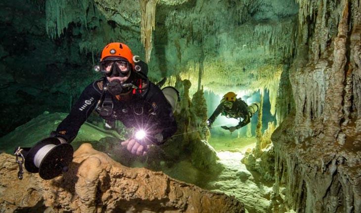 بزرگترین غار زیرآب دنیا کشف شد 