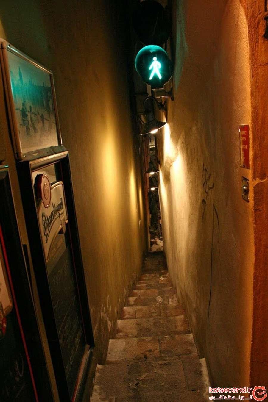 باریک ترین خیابان پراگ