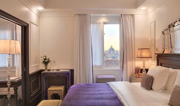 هتل هاسلر (Hassler ) ، هتلی لوکس در قلب شهر رم 