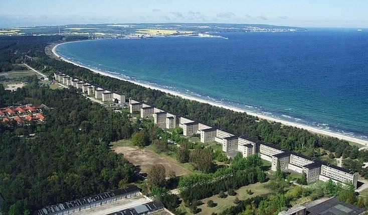 پرورا ؛ هتل نازی ها با ده هزار اتاق