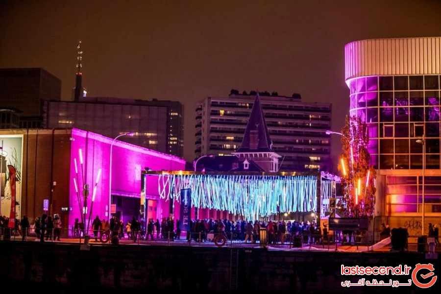 فستیوال نور در بروکسل