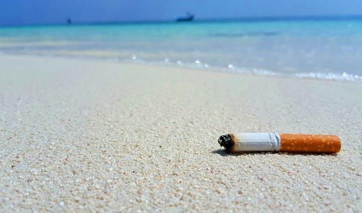 جریمه سنگین برای استعمال دخانیات در سواحل تایلند