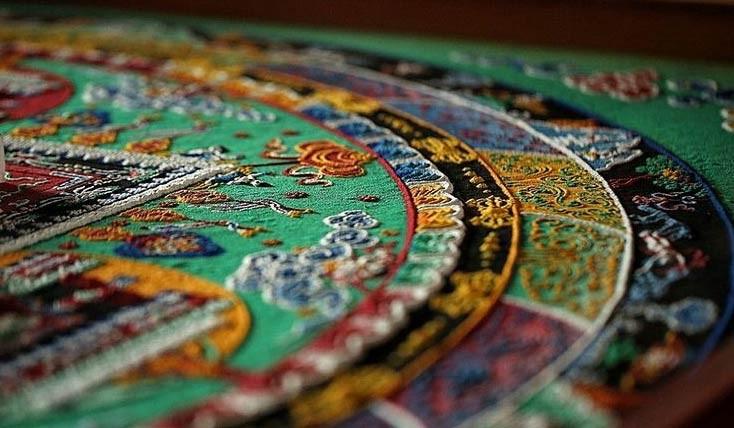 ماندالا : هنر نقاشیتبتیبا ماسه