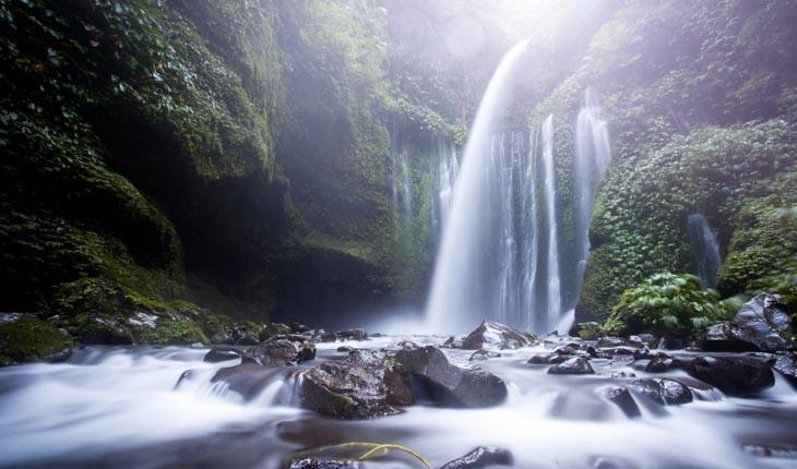رویایی ترین آبشارهای پنهان در دل جنگل ها 