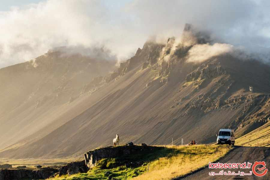 12 تصویر حیرت انگیز از ایسلند 