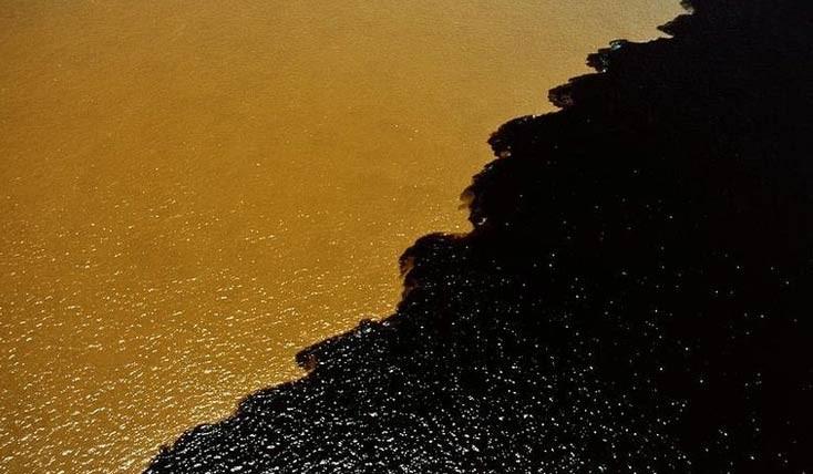 محل تلاقی رودخانه ی سیاه و آمازون