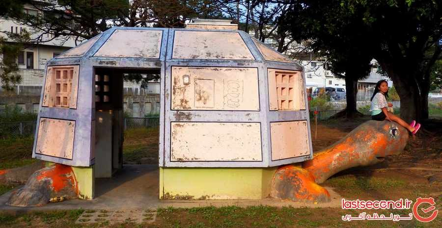 تصاویری از توالت عمومی های عجیب در ژاپن !