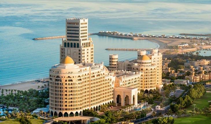 هتل والدورف آستوریا ، لوکس ترین و برترین هتل راس الخیمه 