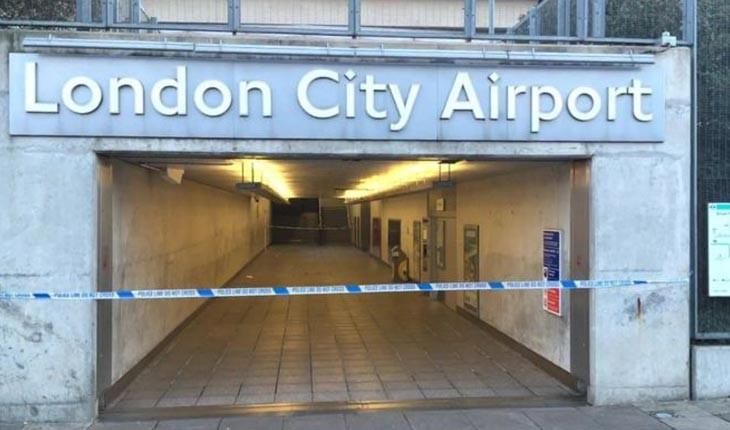 بمب باقی مانده از جنگ جهانی دوم فرودگاه لندن سیتی را تعطیل کرد