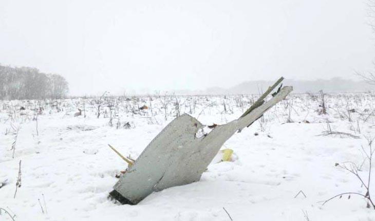 جزییات حادثه سقوط هواپیمای مسافربری روسیه 
