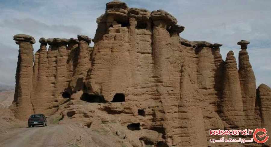  هودو، سازه ای جنی در زنجان