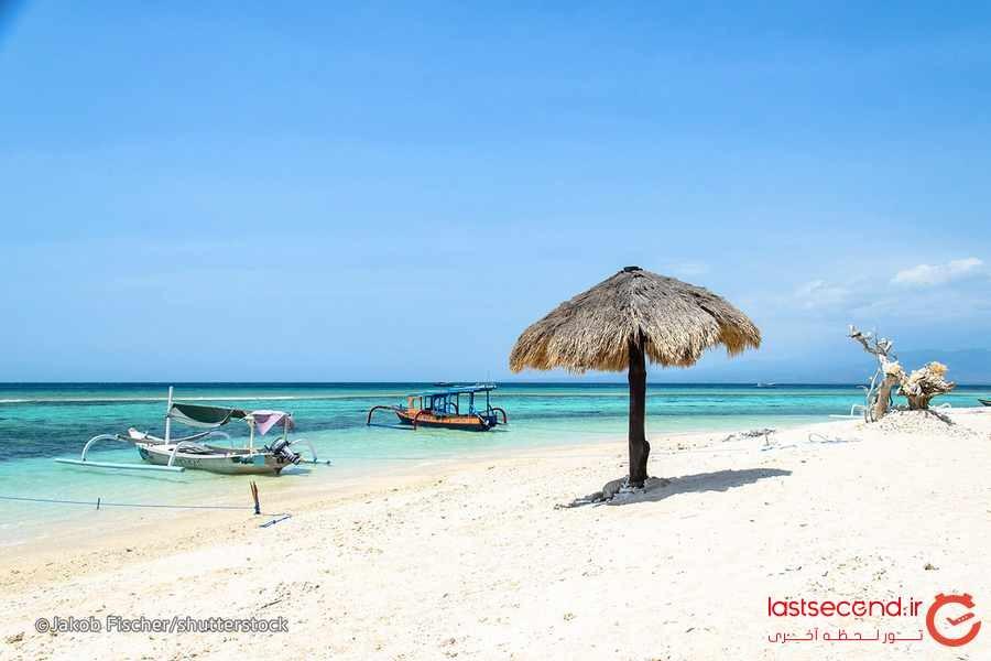 ده جزیره زیبا و دیدنی در نزدیکی بالی 