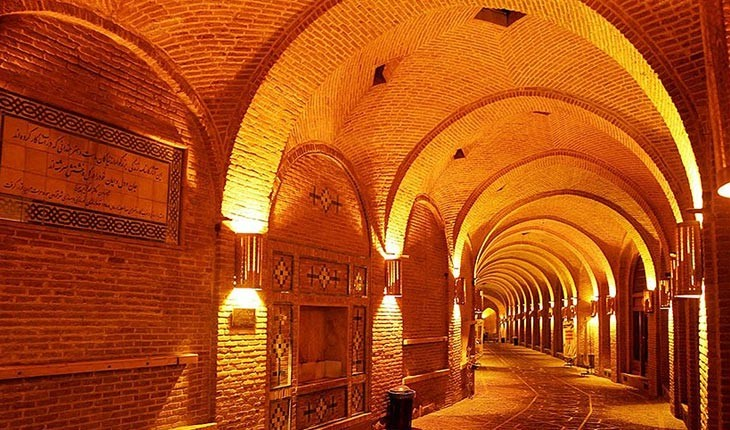 سعدالسلطنه، بزرگترین کاروانسرای سرپوشیده در قزوین