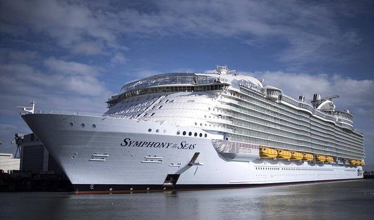 درون بزرگترین کشتی کروز جهان را ببینید 