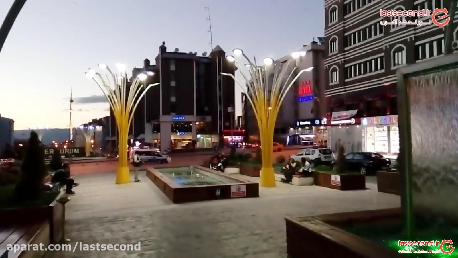 اتفاق عجیب در شهر ارزروم ترکیه در ماه رمضان