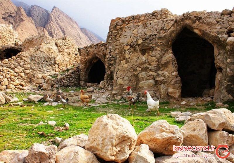 لیوس، روستای سنگی دزفول