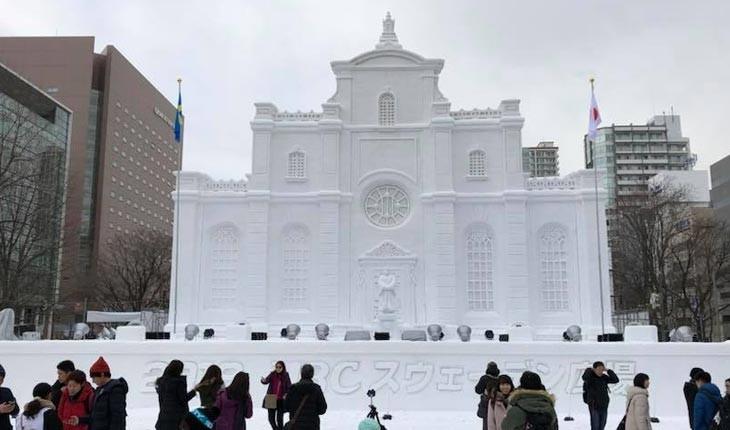 فستیوال برف ، رویدادی زیبا و شگفت انگیز در ژاپن